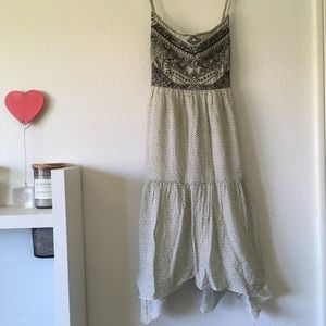 AE Embroidered Babydoll Dress